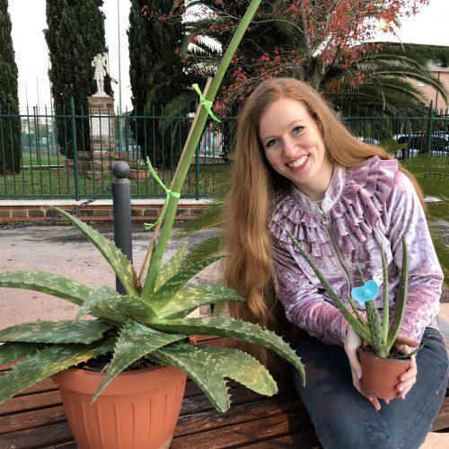 La mia storia d'amore con una pianta di Aloe